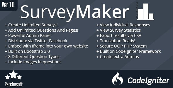 CodeCanyon Survey Maker Form Generator 7383760