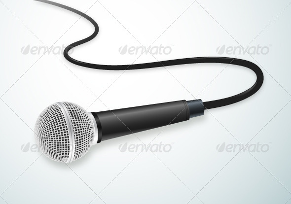 GraphicRiver Microphone 7383763