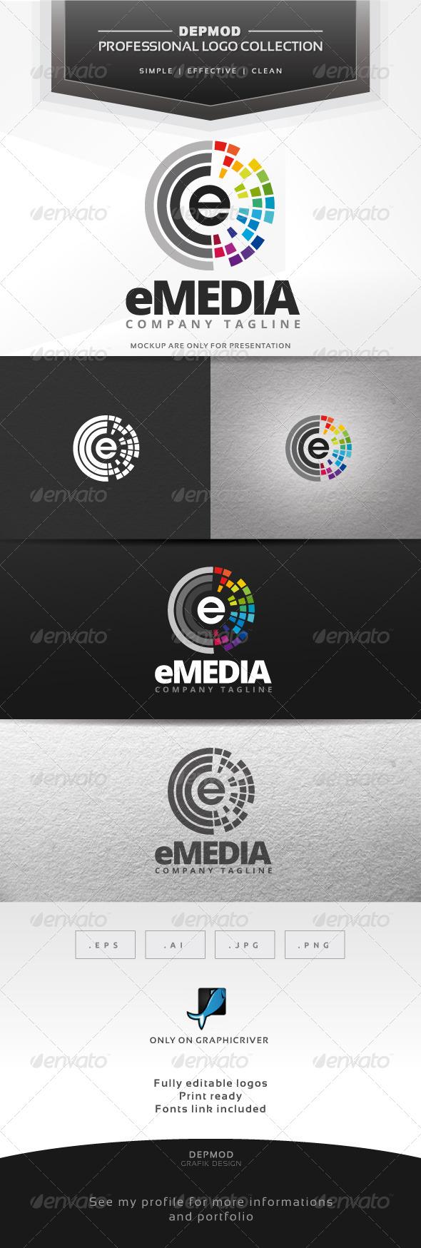 GraphicRiver eMedia Logo 7383801