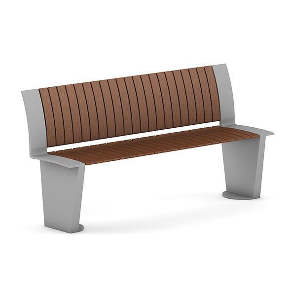 3DOcean Wooden Bench 3 7383813