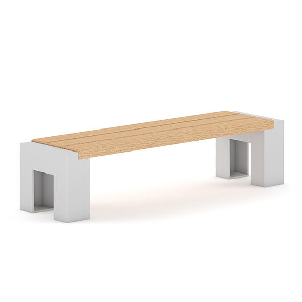 3DOcean Wooden Bench 4 7383862