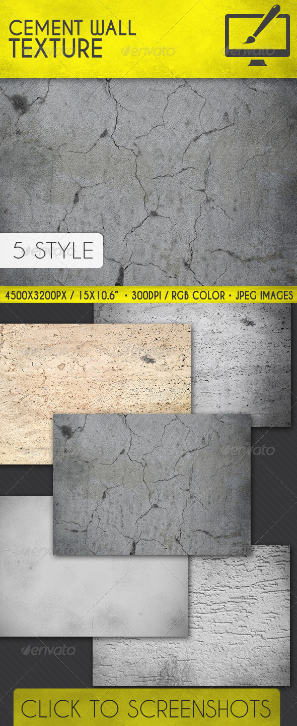 GraphicRiver Cement Wall Texture 7383880