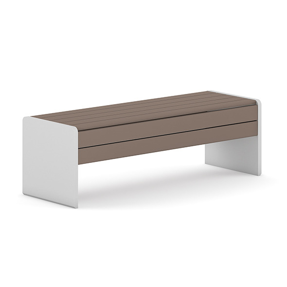 3DOcean Wooden Bench 6 7383887