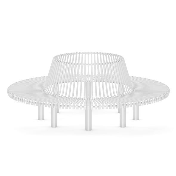 3DOcean Round Bench 7383891