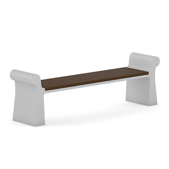 3DOcean Wooden Bench 7 7383895