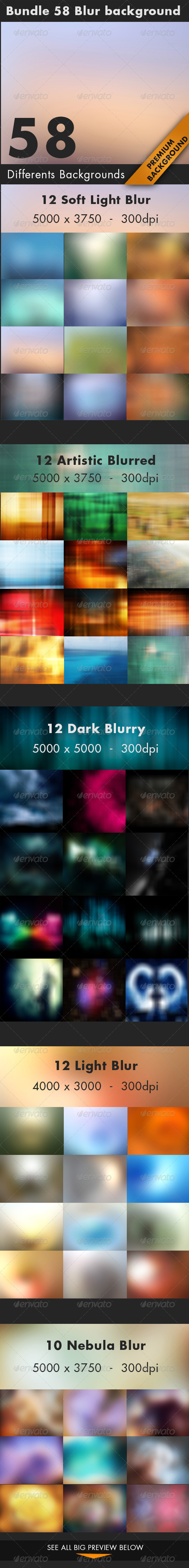 GraphicRiver Bundle Blur Background 7383904