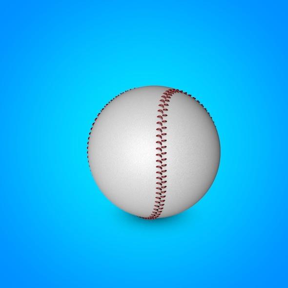 3DOcean Baseball 3D model 7384001