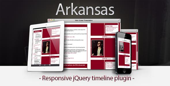 CodeCanyon Arkansas Responsive jQuery Timeline 7361817