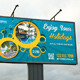 Travel Agency Outdoor Banner 02 - GraphicRiver Item for Sale