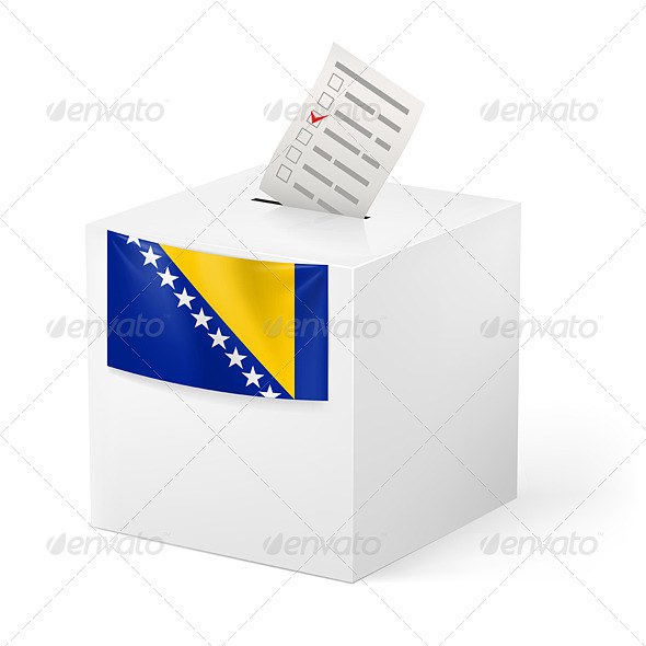 GraphicRiver Ballot Box with Voting Paper 7384030