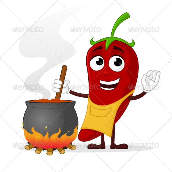 GraphicRiver Chili Cook 7384310
