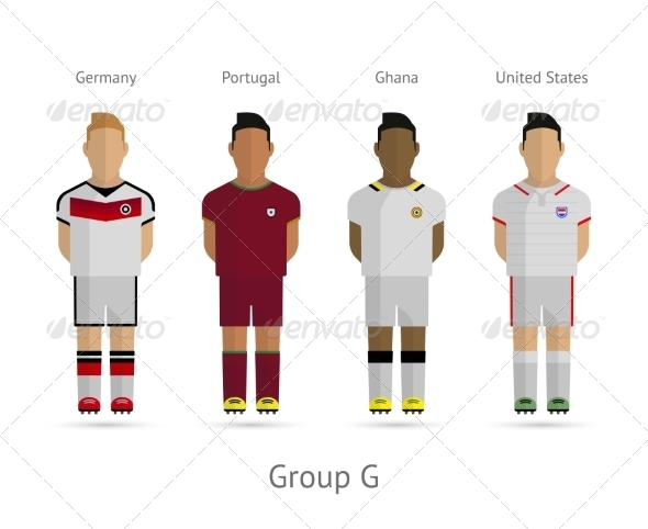 GraphicRiver Football Teams Group G 7384316