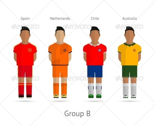 GraphicRiver Football Teams Group B 7384317