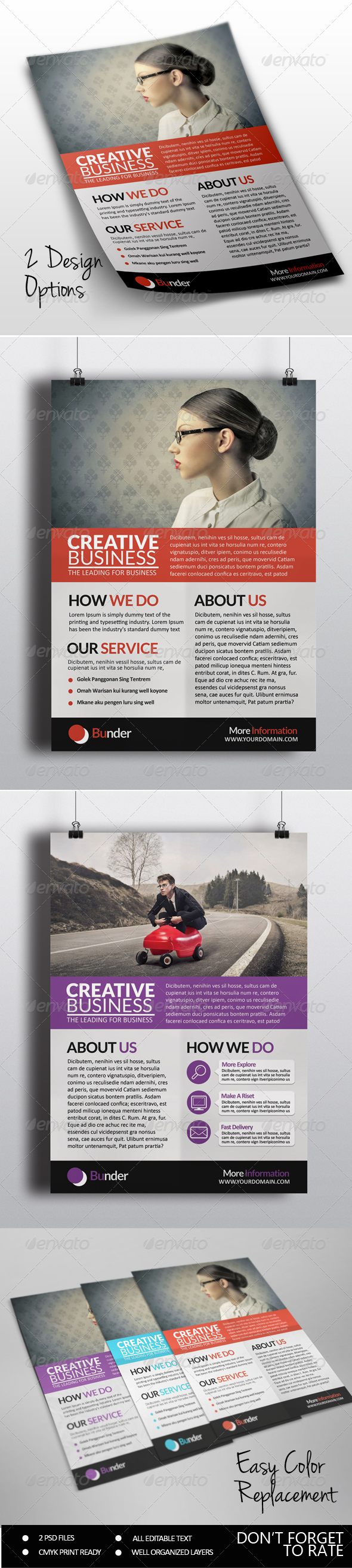 GraphicRiver Creative Business Flyer 7384321