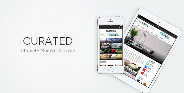 ThemeForest Curated Ultimate Modern Magazine Theme 7282835