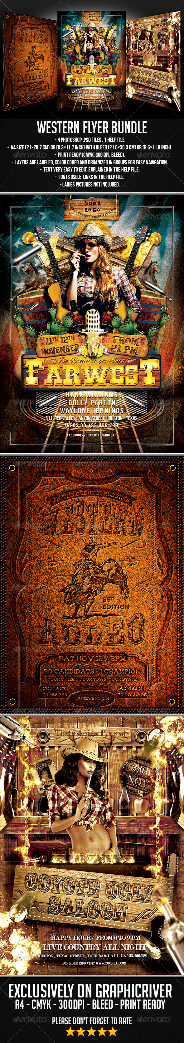 GraphicRiver Western Flyer Bundle 7384565