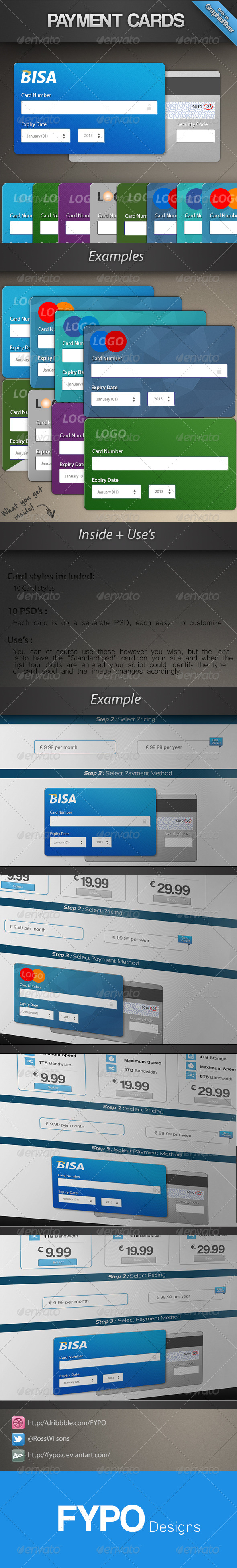 GraphicRiver Payment Cards 7328995