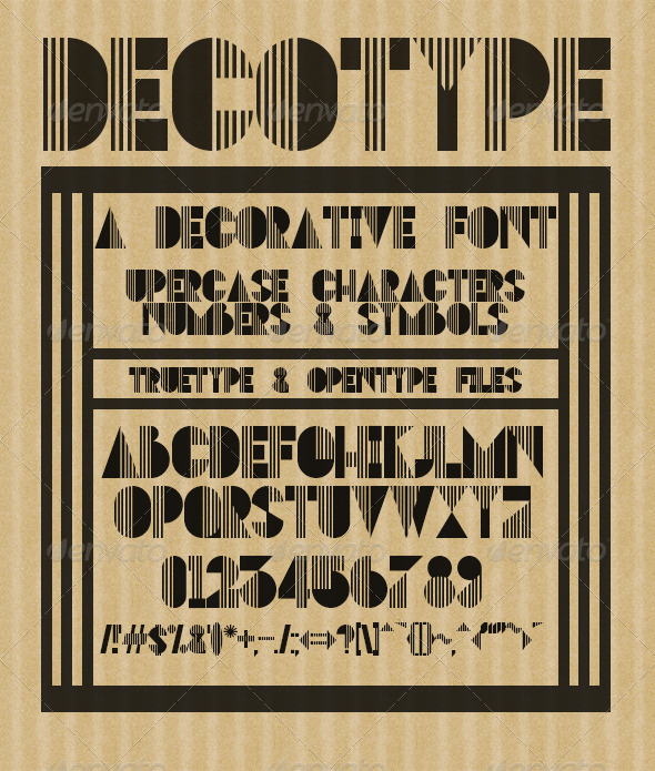 GraphicRiver DECOtype 7384641