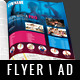 Fitness Gym Flyer / Magazine AD - GraphicRiver Item for Sale