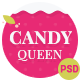 Candy Queen - Beautiful, Clean One Page Portfolio - ThemeForest Item for Sale