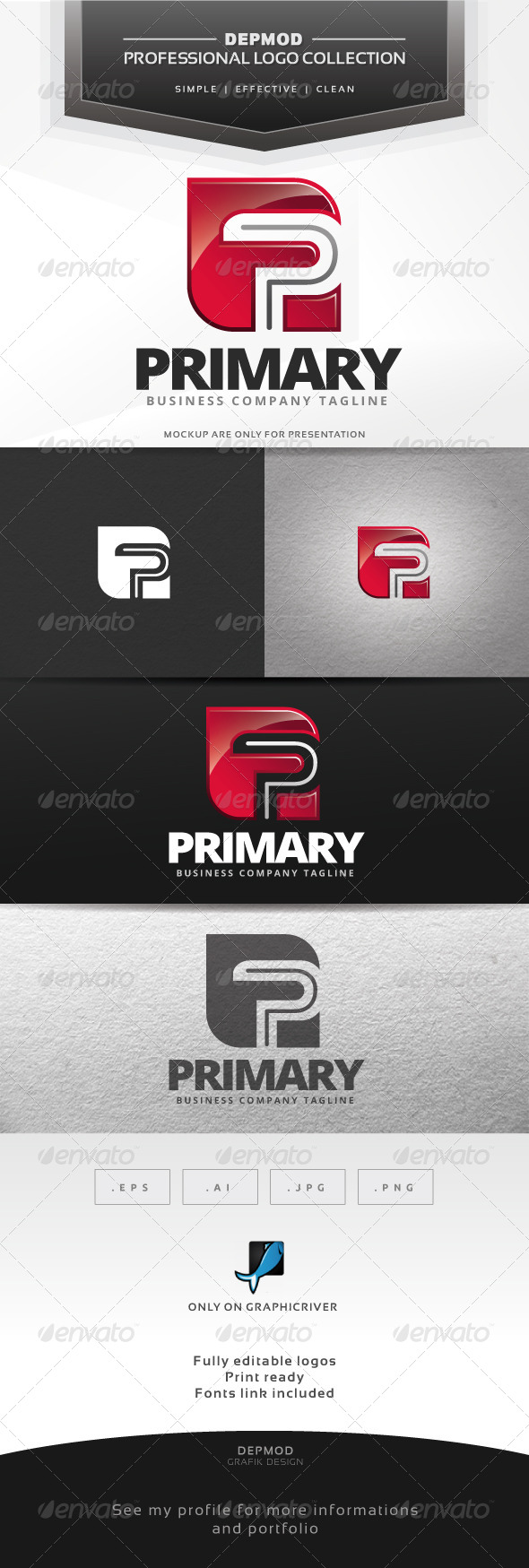 GraphicRiver Primary Logo 7384878