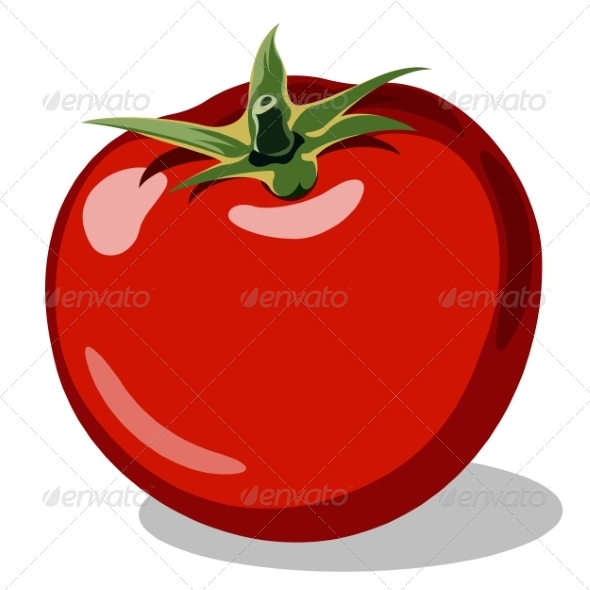 GraphicRiver Red Ripe Tomato 7384925