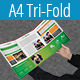 Multipurpose A4 Tri-Fold Brochure Template Vol-3 - GraphicRiver Item for Sale