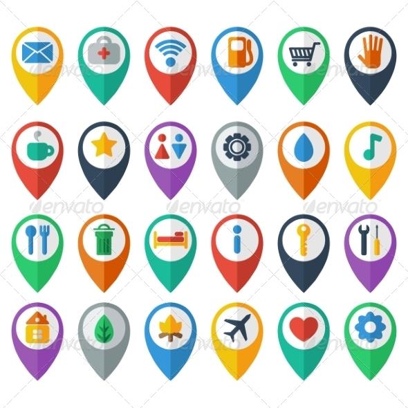 GraphicRiver Navigation Icons 7385006