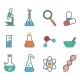 Flat Icon Science - GraphicRiver Item for Sale