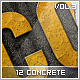 12 Concrete Styles Vol.3 - GraphicRiver Item for Sale