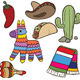 Mexican Items - GraphicRiver Item for Sale