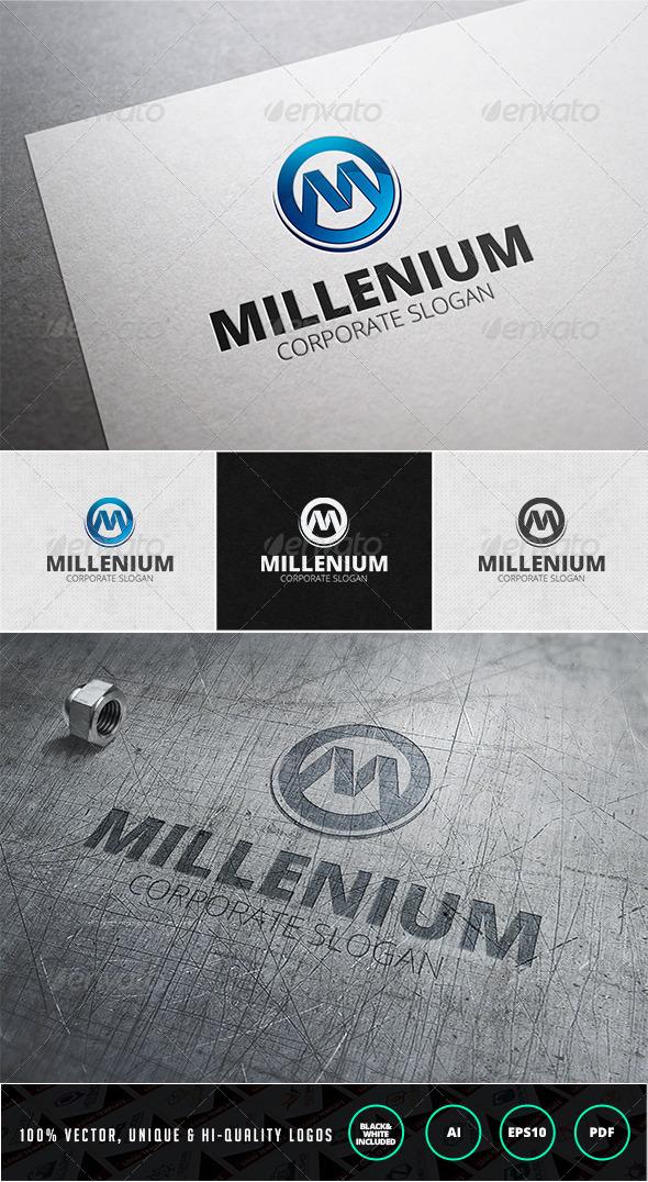 GraphicRiver Millenium Logo Template 7385321