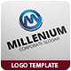 Millenium Logo Template - GraphicRiver Item for Sale