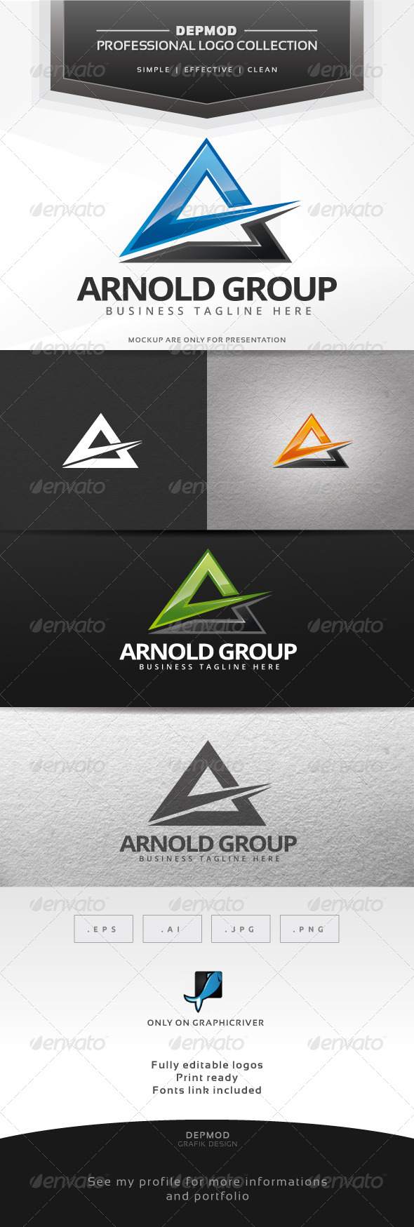 GraphicRiver Arnold Group Logo 7385343