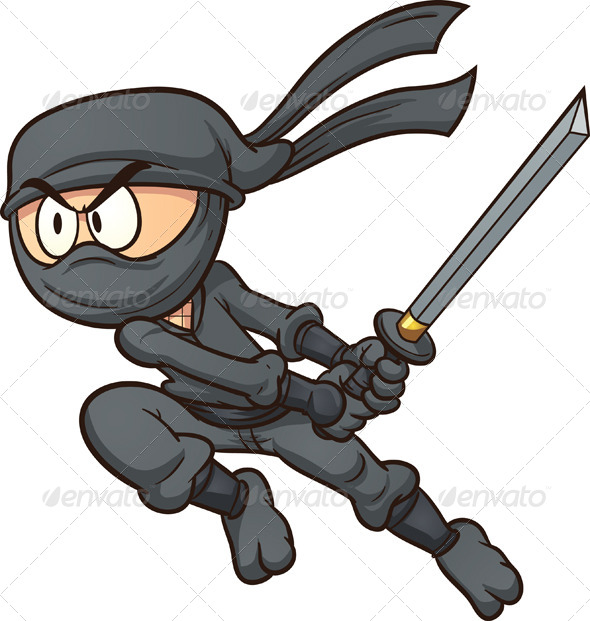 GraphicRiver Cartoon Ninja 7385372