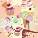 Mixed Colourful Sweet Background - GraphicRiver Item for Sale