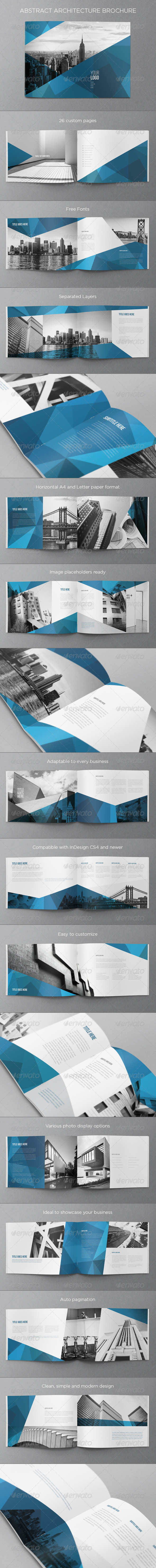 GraphicRiver Abstract Architecture Brochure 7385718
