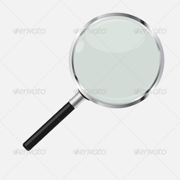 GraphicRiver Magnifying Glass Search Icon Vector Illustration 7386329