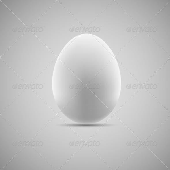 GraphicRiver Egg Realistic Vector Illustration 7386349