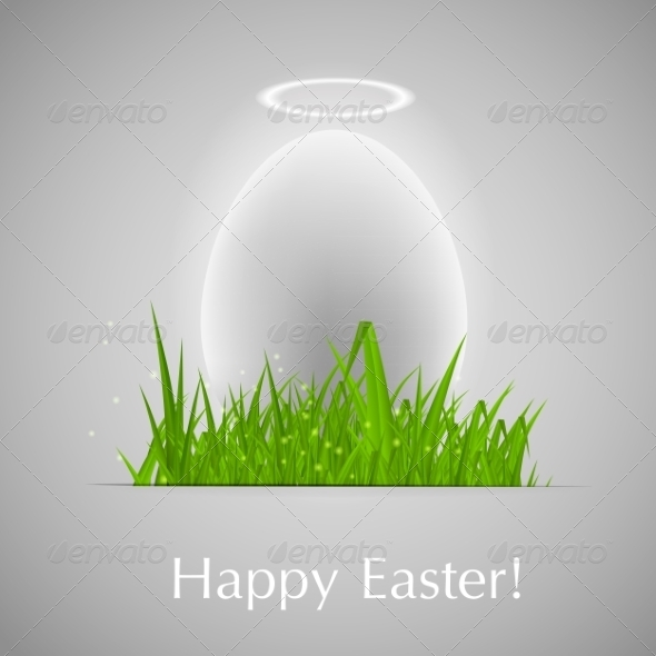 GraphicRiver Easter Background Vector Illustration 7386353