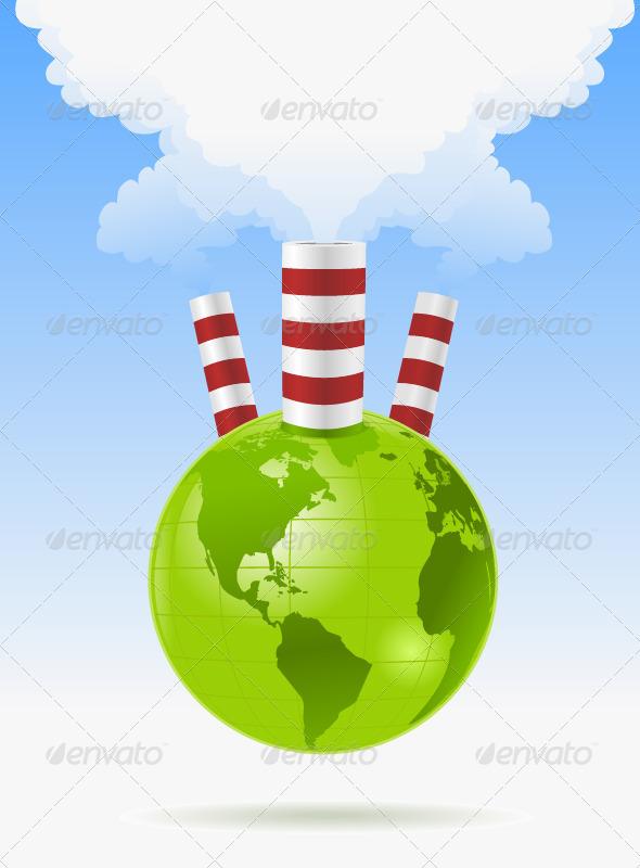 GraphicRiver World Pollution 7371989