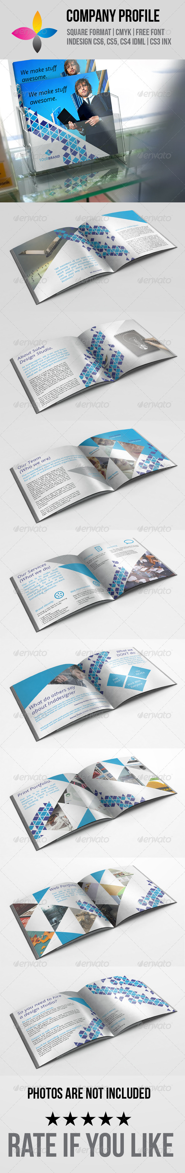 GraphicRiver Company Profile 7386810