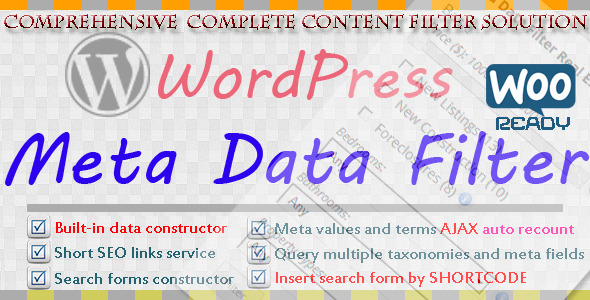 CodeCanyon Wordpress Meta Data & Taxonomies Filter 7002700