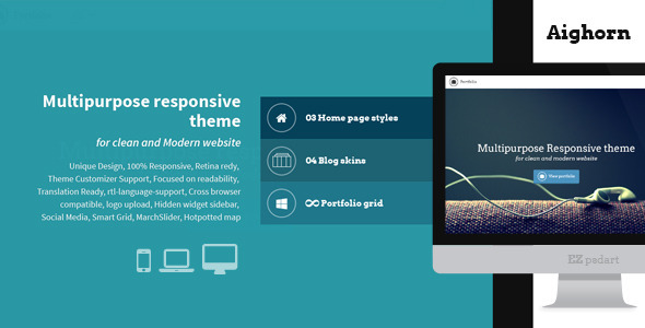 ThemeForest Aighorn WP 7279616