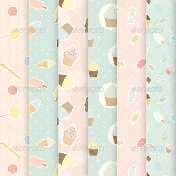 GraphicRiver Sweet Patterns 7387690