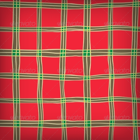 GraphicRiver Seamless Abstract Scottish Plaid 7389633