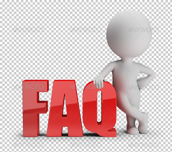 GraphicRiver 3D small people FAQ 7389834