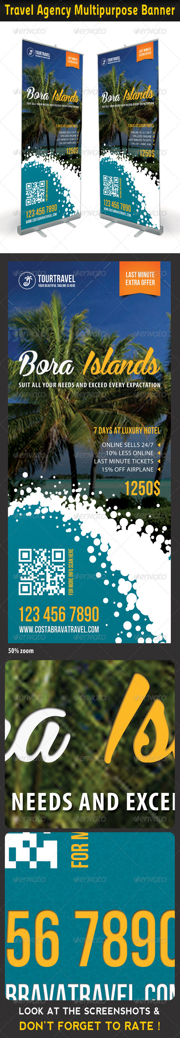 GraphicRiver Travel Agency Banner Template 09 7389870