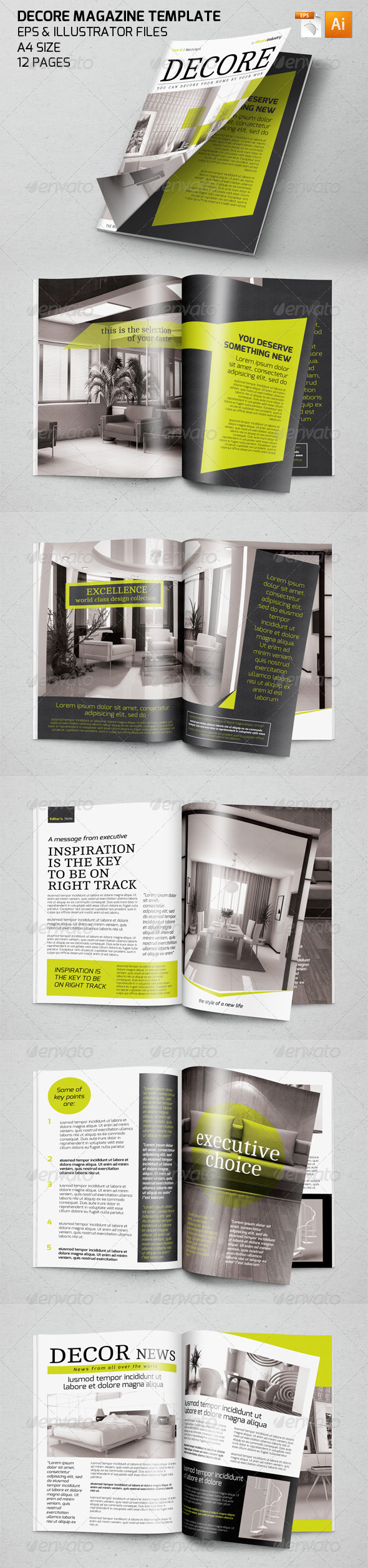 GraphicRiver Product Magazine Template 7390981