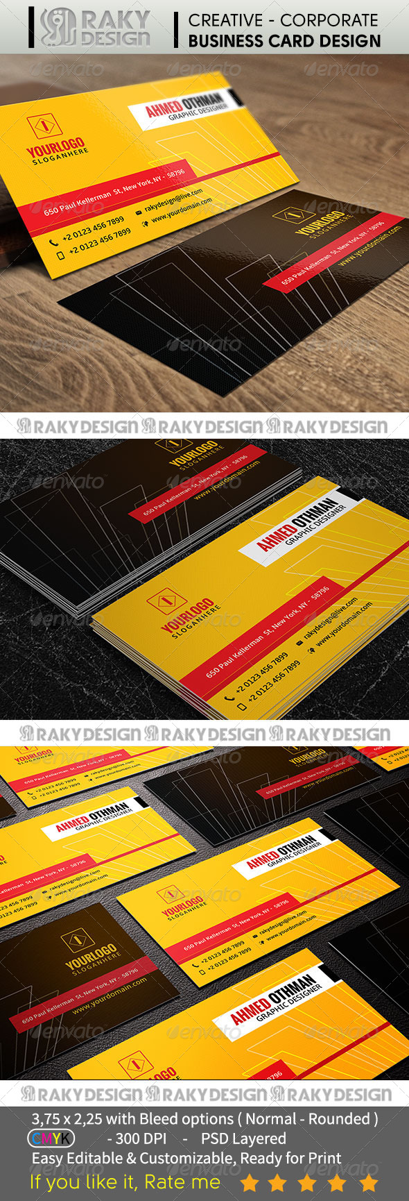 GraphicRiver Corporate Business Card V04 7391463